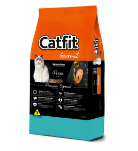 Catfit Gourmet Fishe Adult Cats