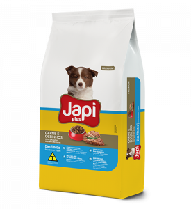 Japi Plus Beef and Little Bones Puppies