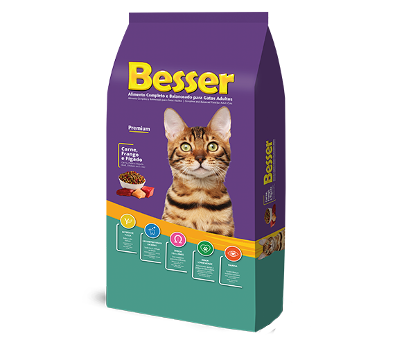 Besser Beef, Chicken and Liver Adult Cats